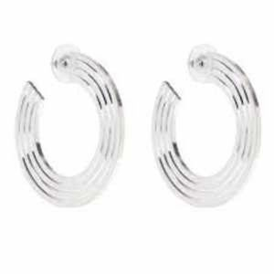 India Hicks Winner's Circle Earrings - Silver